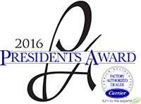 Carrier 2016 Presidents Award