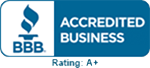 BBB - Accredited Business A+