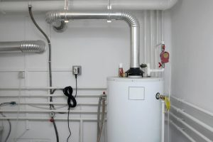 Pipes of a heating system